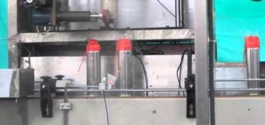 Shrink Sleeve Label Applicator Machine for Shrink Tunnel for full body