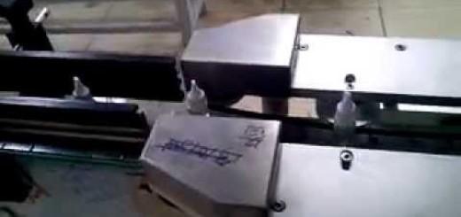 Shrink sleeve labeling Applicator machine , Eye drop and vial Sleeve machine