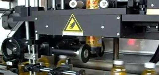 Shrink sleeve machine for oil bottles , Water bottle shrink sleeve applicator