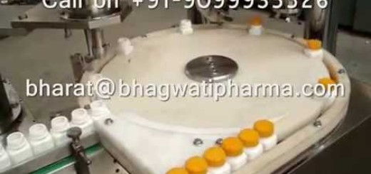 Single Head Powder Filling machine