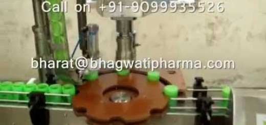 Single Head Screw Capping Machine for small HDPE Jar