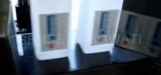 Single Side Sticker Labeling Machine , Flat bottle labeller machine