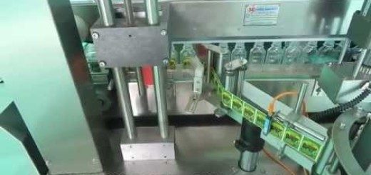 Single Side Vertical Bottle Sticking Labeling Machine for Pet Oval Bottle, Pet Flat Botlte