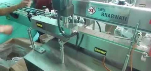 single sided sticker labeling machine for flat bottle, oval, square bottle