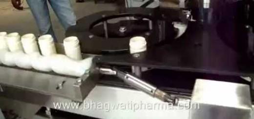 Six head Bottle Screw capper machine-  Eight head Screw cap sealing machine