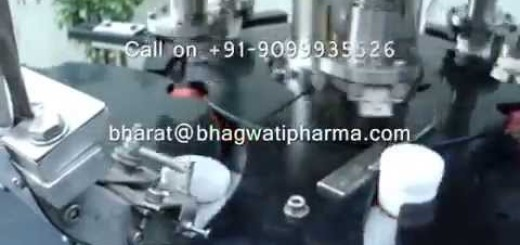 Six Head Screw Capping Machine for Small Cream Jar