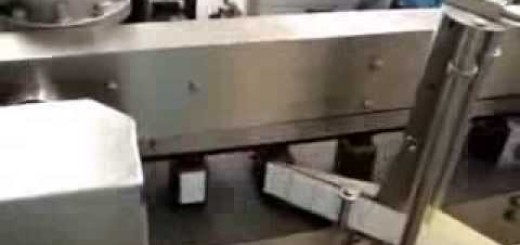 Sticker labelling machine for Round and flat bottle