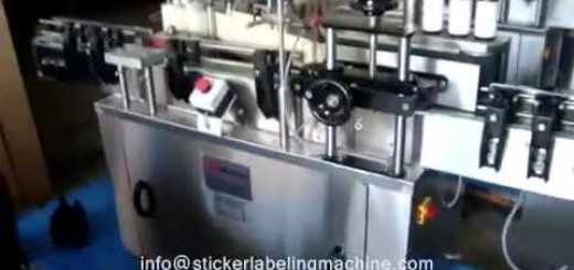 Sticker labelling machine for Vial , Bottle 10,15,20,25,30,50,100,120,150,180,200,500,750ml
