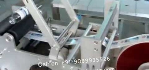 Table Top Sticker Labeling Machine, Semi Auto Sticker Labeling Machine