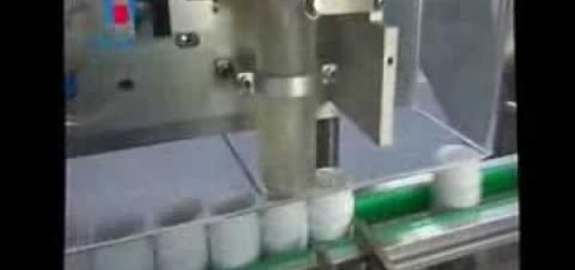 Tablet counting & filling line