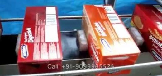 Top & Side Labeling Machine for Carton, Boxes, bags, Pouches, Files, bottles