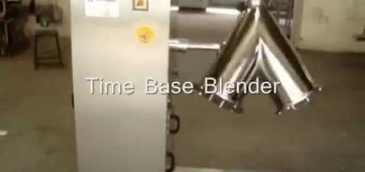 V shape Blender for powder , V Blender for powder and granules PLC