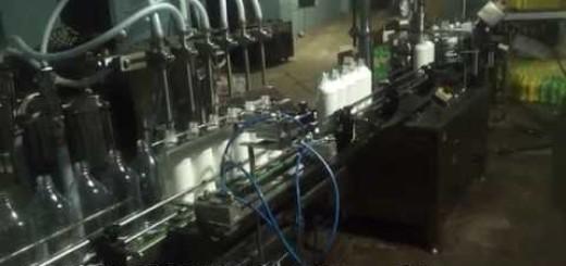 White/Black Phenol Filling Machine, liquid gel filling machine, Viscous cleaning liquid filling line
