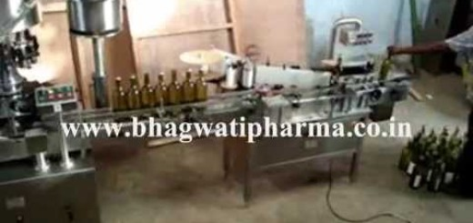 Wine Bottling Line, Liquor / Vodka Glass Bottle Filling Line