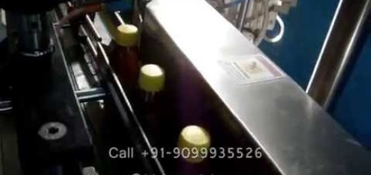 Wrap round bottle Labeling Machine for 50 BPM, 100 BPM