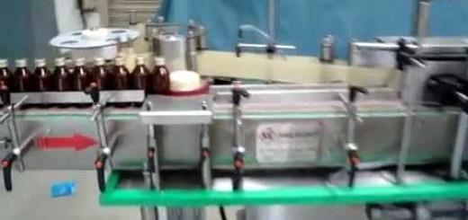 Wrap Round Sticker labelling machine