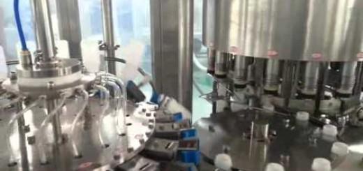 Milk Bottle filling line , Milk Bottle rotary Rinsing , Filling, foil sealing machine