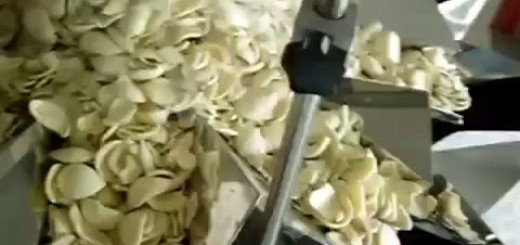Potato chips weighing and Pouch packaging machine, VFFS machine