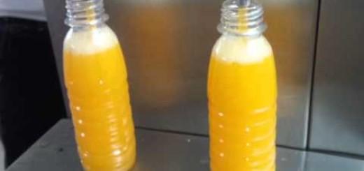 Semi Auto Juice filling machine , Two head semi auto Liquid filler