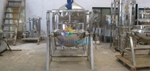 Starch Paste Kettle, Jacketed SS Kettle, Jacketed Paste Kettle machine