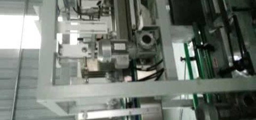 Automatic carton erector with case packer cartoning sealing machine  with conveyor line