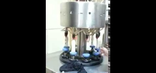 Rotary perfume filling machine, Perfume filler
