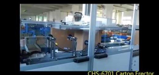 Carton erector, carton erector with bottom sealer machine