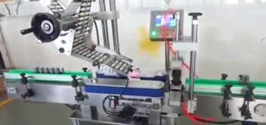 "Bottle Security Top labeling machine for ""u"" seal  ""L"" type seal Top side for bottle"