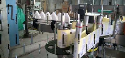 Double Side Servo Sticker Labeling machine Flat bottle, Lube can, HDPE Can, Jar, Oil Can