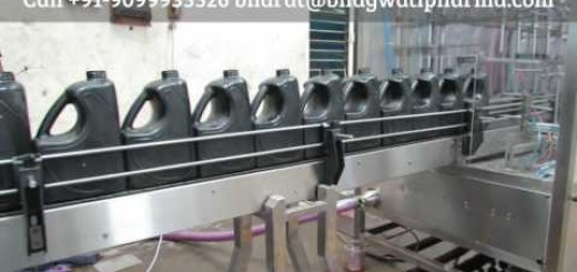 6/8/12 Head Lube Oil Filling Machine, High Speed Linear Filling Machine India