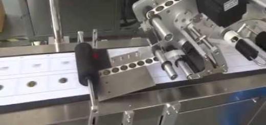 Two Head Top Label Labeling machine , Multi Head  Top labelling machine
