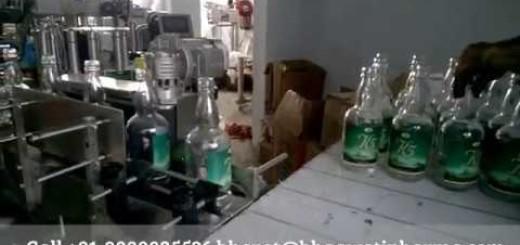 wrap around bottle labeling machine automatic wine bottle glass bottle