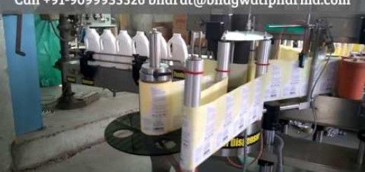 Double Side Jerry Can Labeling Machine, 5 liter jar labeling machine
