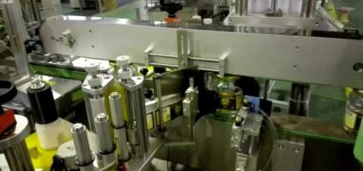 square bottle 4 sides labeling machine , Squire bottle wrap round top labeling machine