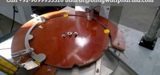 automatic cap lining/wadding machine, wad fixing machine