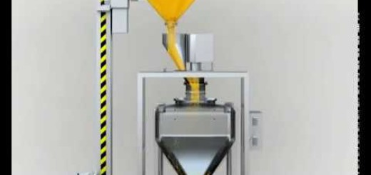 Bowl Lifting and Tilting Device Machine with IPC Bins ,IBC containers