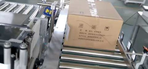Carton Track and Trace Label Applicator, print and apply labeling machine for carton
