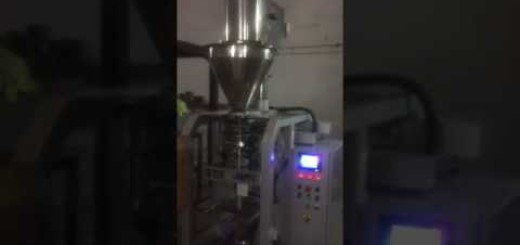 Premixes Coffee and Tea VFFS Auger Pouch Packing machine , Coffee and Tea VFFS Auger filler