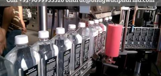 two side sticker labeling machine for water bottle, juice bottle, pet bottle