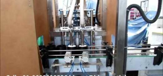 Servo   Shaving foam filling machine