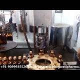 Single head ropp cap sealing machine for Glass Rectangle bottle