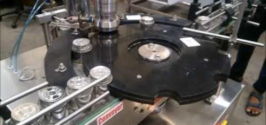 Solvent liquid filling line
