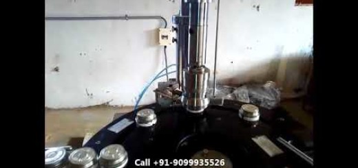 Adhesive liquid filling line