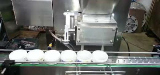 Cream Jar filling machine, container visocus  filling machine