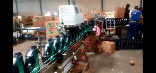 Fully Automatic Lube Oil Filling Line