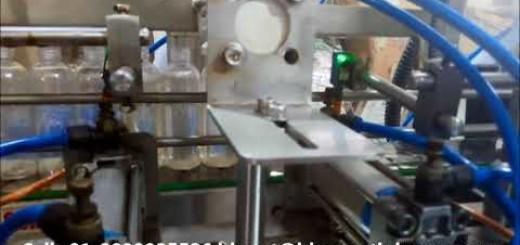 Fully Automatic Shampoo filling machine