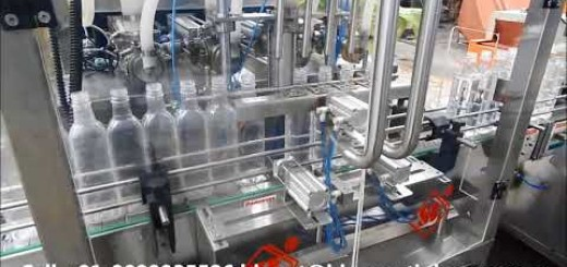 Hot Pulp Juice Filling line fully automatic – cleaning, filling, capping and labeling