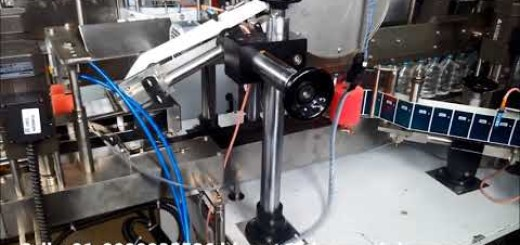 Single side and top side sticker labeling machine