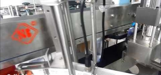 Single Side Cum Round Sticker Labeling Machine for Flat and Round bottle