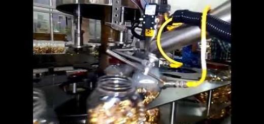 Six head screw capping machine for Chocolate Jar